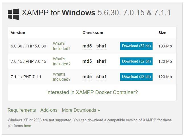 ss-web-xampp